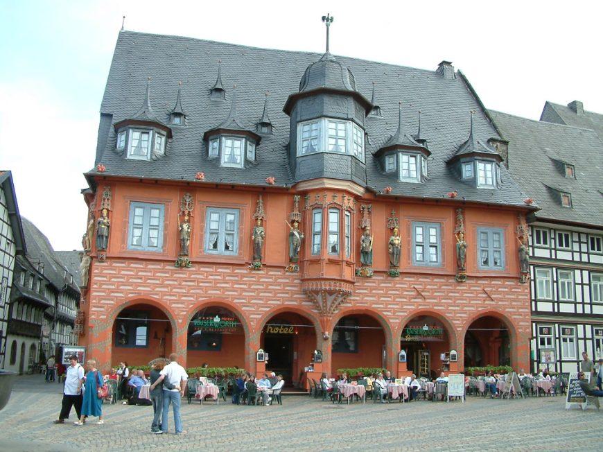 Goslat town square, Lower Saxony