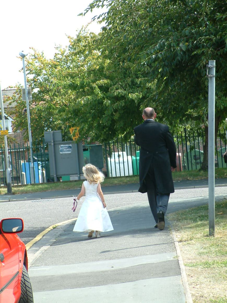 You going anywhere special today? (A grandad, T-W-O & his granddaughter)